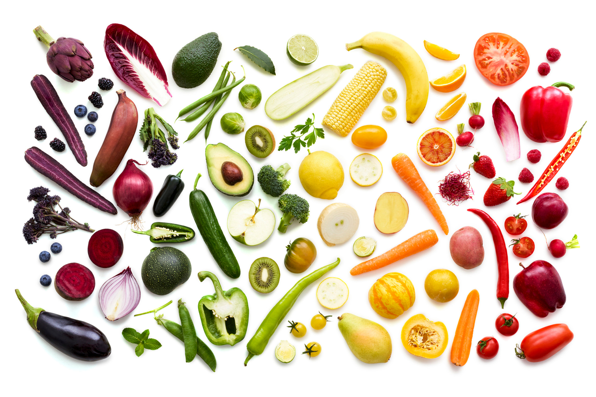 Phytonutrients for depression – colours for your mood