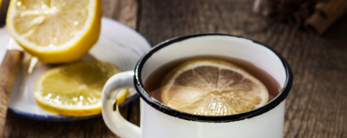hot water with lemon morning routine