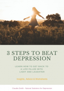Cover 3 steps to beat depression