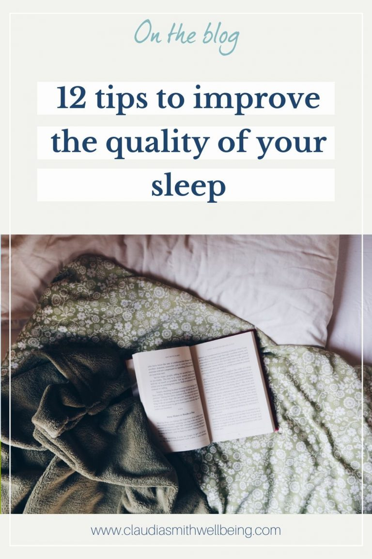 tips to improve the quality of your sleep