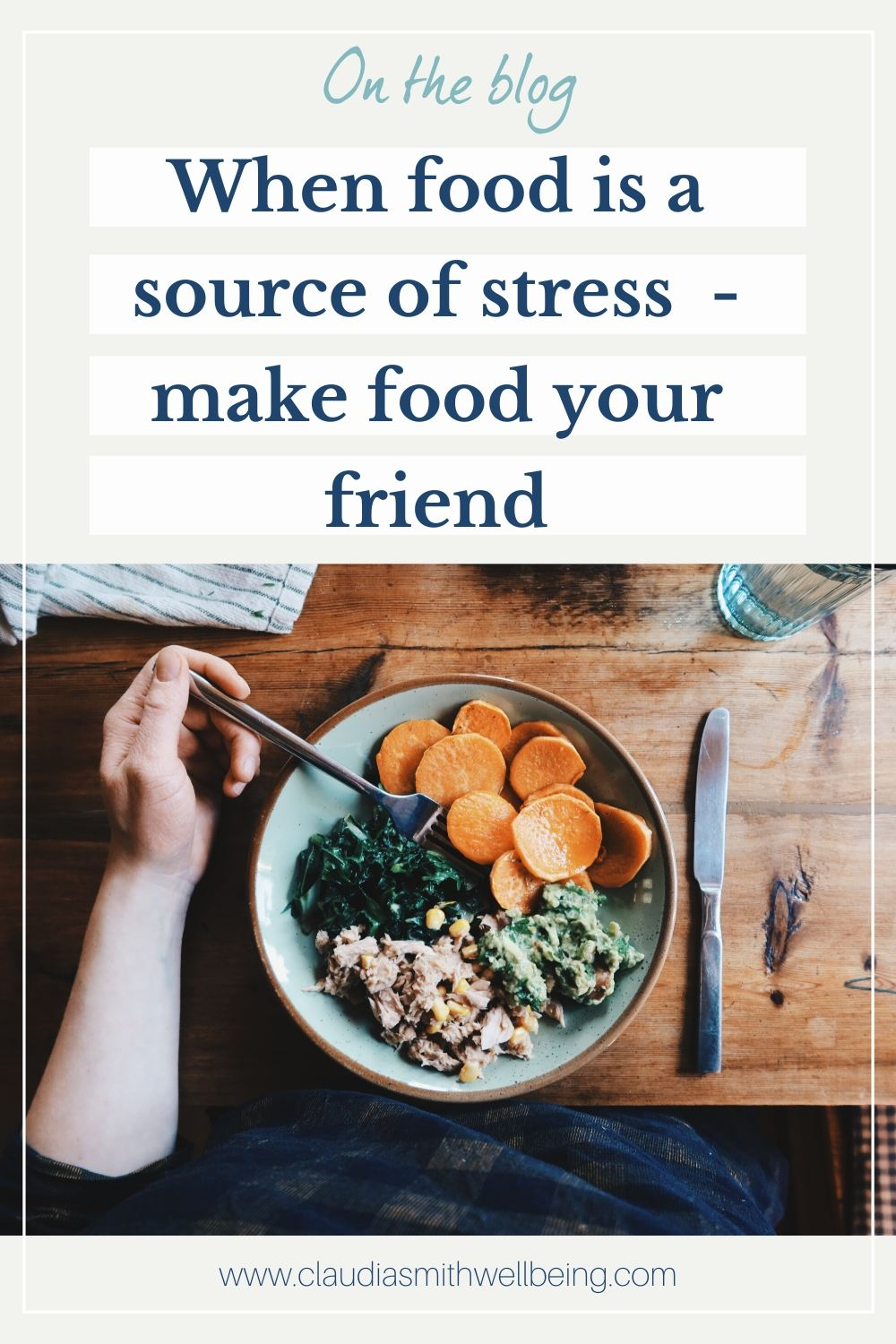 when food is a source of stress