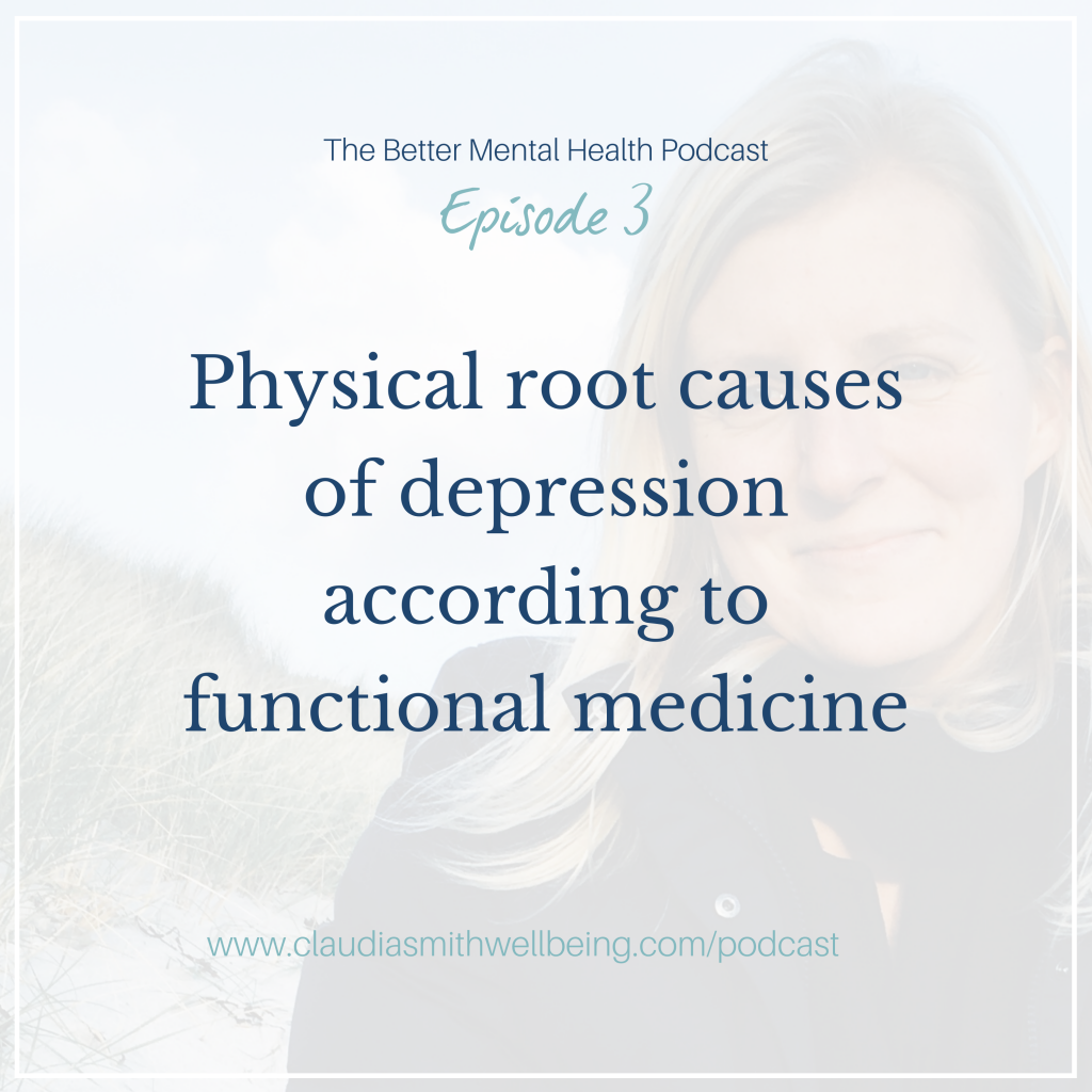 Physical root causes of depression