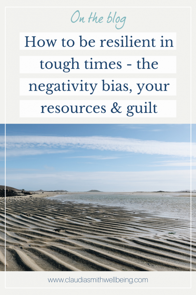 how to be resilient in tough times