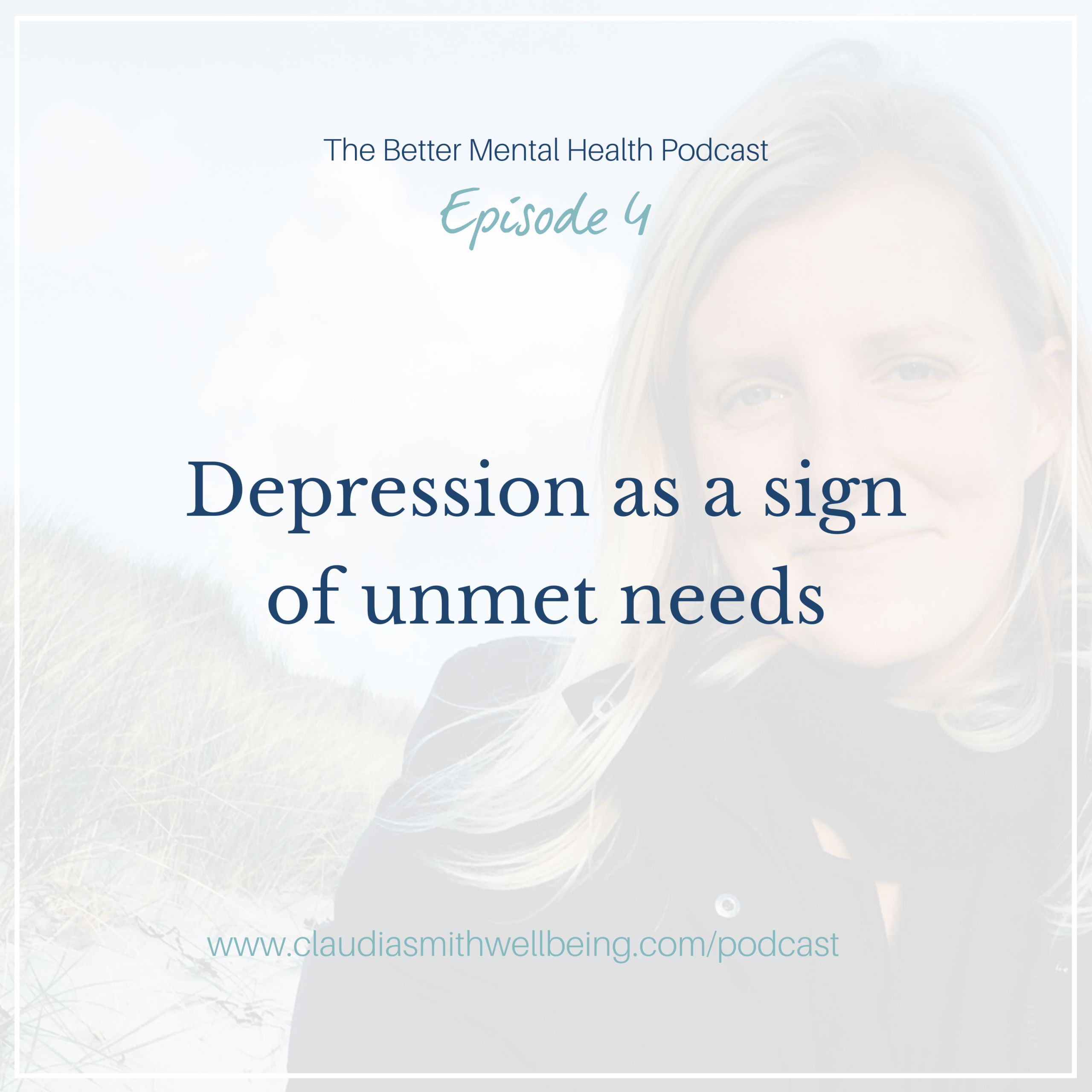 Depression as a sign of unmet needs