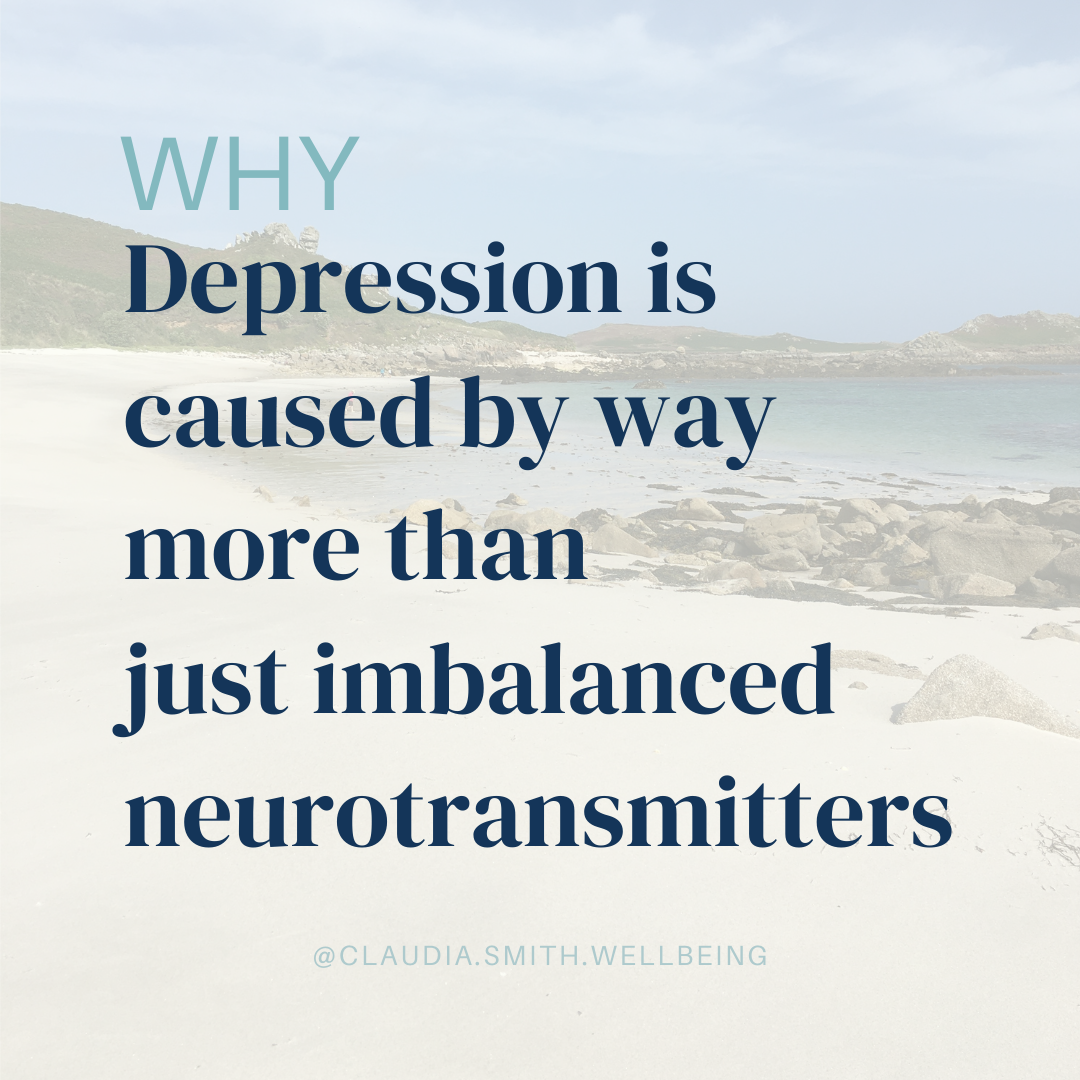 Why depression is caused by more than just imbalanced neurotransmitters