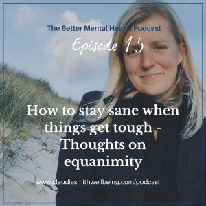 How to stay sane when things get tough