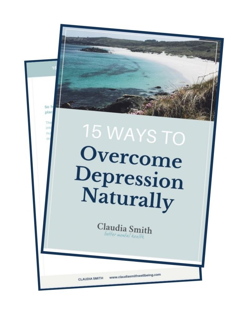 Ways to Overcome Depression Naturally